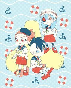 Inazuma Eleven Go, Httyd, Illustration, Anime, Twitter, Boys, Art, Dress, Black