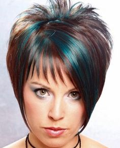 Love the turquoise highlights