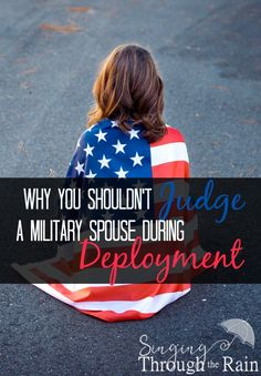 This post has been a long time coming! Inspired my an email I received from a blog reader, here are three reasons why you shouldn't be judging military spouses or families.