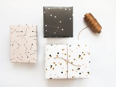 Wrapping paper set | Party under the sky
