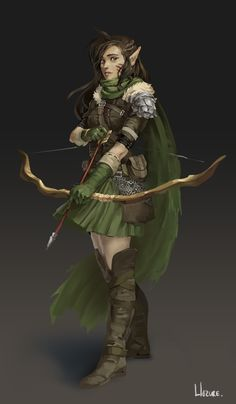 Dungeons and dragons characters, dnd characters, fantasy characters, female Elf Characters, Dungeons And Dragons Characters, Fantasy Characters, Ranger Dnd, Elf Ranger, Fantasy Character Design, Character Inspiration, Character Art, Fantasy Warrior