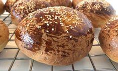 🍔Brioche boller til burger | opskrifter | GastroFun.dk Sous Vide, Muffin, Bread, Dessert, Snacks, Breakfast, Food, Brioche, Morning Coffee