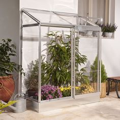 B&Q Polycarbonate Lean-To Mini greenhouse - B&Q for all your home and garden supplies and advice on all the latest DIY trends Polycarbonate Greenhouse, Window Greenhouse, Lean To Greenhouse, Greenhouse Plans, Curved Pergola, Metal Pergola, Pergola Kits, Pergola Ideas, Backyard Ideas