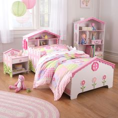KidKraft Dollhouse Toddler Bed - 76254 | from hayneedle.com