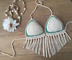 Crochet top bikinitop boho summerwear