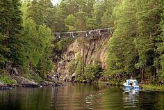 Repoveden kansallispuisto on lähellä kaikkea. (KUVA: Jussi Nukari)