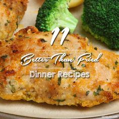 Let's face it, fried dinner recipes may be tasty, but they are nutritional non-no's. Try these11 Better Than Fried Dinner Recipes instead! #healthy #recipes #skinnyms