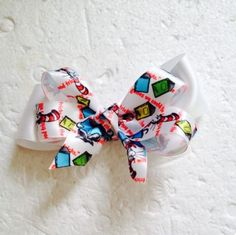New Handmade Satin Ribbon Cat In The Hat Hair Bows Clips  Accessories Hairbows