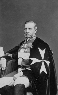 Bildnis des Pergen-Thomasberg, Anton Gf [1839-1902] als Malteser - Ritter