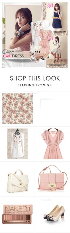 """""""ERICDRESS- Spring Charm"""" by shinee-pearly ❤ liked on Polyvore featuring Once Upon a Time, Forever 21, Jimmy Choo, Bobbi Brown Cosmetics, Urban Decay and Oasis"""