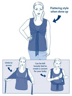 Tie Front Breastfeeding Top | JoJo Maman Bebe