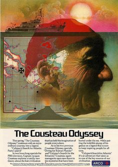 The Cousteau Odyssey by Mark English, an Arco (Atlantic Richfield Co.) ad for the Cousteau Odyssey on PBS, 1977