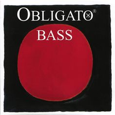 Pirastro Obligato Solo Series Double Bass String Set 3/4 Size