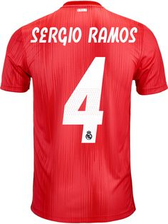 Get this Sergio Ramos jersey from SoccerPro Ramos Real Madrid, Jersey Atletico Madrid, Soccer Jerseys, Adidas, Men, Sergio Ramos, Football Shirts, Guys