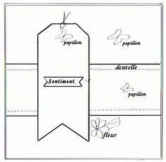 Sketch + Lift Cartes - Le Blog de Cathy