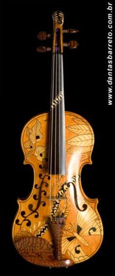 Violino Floresta do Amazonas