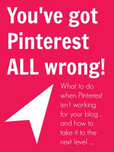 Increase traffic to your blog by learning how to best use Pinterest!