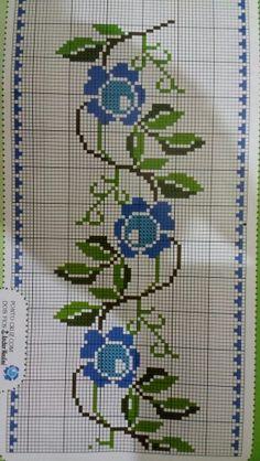 Cross Stitch Bookmarks, Cross Stitch Borders, Cross Stitch Rose, Cross Stitch Alphabet, Cross Stitch Samplers, Cross Stitch Designs, Cross Stitching, Cross Stitch Patterns, Crochet Stitches Patterns