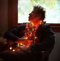 icancauseaconstellation: It's not Christmas until someone decorated the Tom Waits.