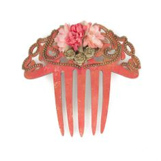 Flamenco Costume, Vintage Hair Combs, Color Naranja, Hair Ornaments, Artists Like, Vintage Hairstyles, Glamour, Hair Jewelry, Hair Pins