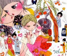 1000+ images about ARCHiVE on We Heart It | See more about aesthetic and archive Pretty Art, Cute Art, Aya Takano, Japon Illustration, Arte Sketchbook, Funky Art, Wow Art, Art Plastique, Aesthetic Art
