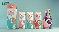 The Dieline Awards 2014: Non-Alcoholic Beverage, 3rd Place – Petit Natural Juice — The Dieline - Branding & Packaging