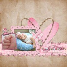 Your Arrival | Baby scrapbook,