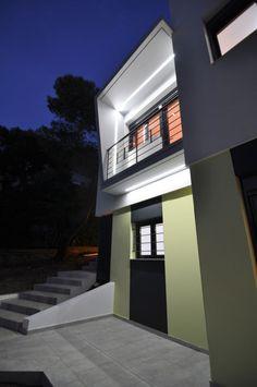 Μια κατοικία στην Πεντέλη που σέβεται το περιβάλλον - Gavalas Architects [pics] - Κατασκευές Κτιρίων