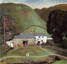 Dora Carrington:  Farm at Watendlath (1922)