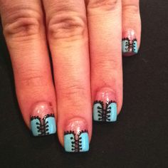 Corset Nails by Jimmy