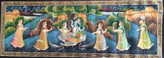 Lord Krishna with his Gopis