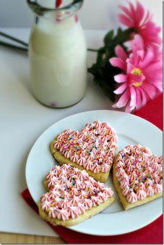 Shirley Temple Sugar Cookies