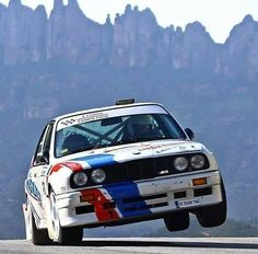 BMW M3 Rally Car