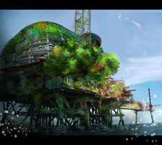 How to Combine Digital Painting and Photo Manipulation to Create a Platform Environment - Tuts+ Design & Illustration Tutorial