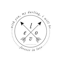 """""""With you, my darling, I will be forever in love"""" print by Parima Studio"""