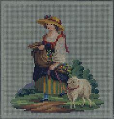 Mini Cross Stitch, Cross Stitch Cards, Cross Stitching, Cross Stitch Embroidery, Cross Stitch Patterns, Vintage Cross Stitches, Vintage Embroidery, Embroidery Patterns, Bargello Needlepoint