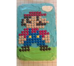 A Super Birthday Cake from a Super Mom ~ Whirligigs Party Co