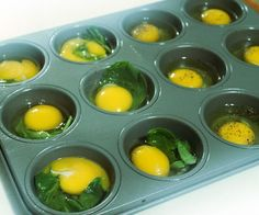 Make A Week's Worth Of Healthy Egg Breakfast Sandwiches in 15 Minutes-Bake in the oven at 350 for about 15 minutes.