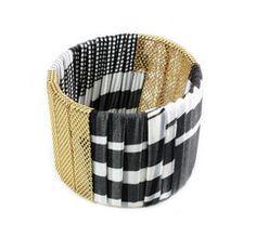 Super cute fabric bracelet! on sale for $10 at poshlocket.com