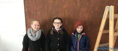Am Zukunftstag - Girls Day hatten wir dieses Jahr hohen Besuch! Danke Frances, Carolina und Maja