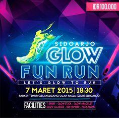 """Glow Fun Run on Twitter: """"@infosda Sidoarjo Glow Fun Run, Event ... Glow Run, Running, Twitter, Fun, Keep Running, Why I Run, Hilarious"""