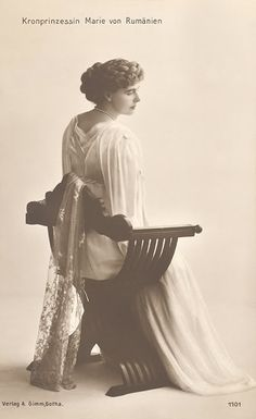 "thefirstwaltz: "" ""Marie, Crown Princess of Romania. Queen Mary, King Queen, Adele, Maud Of Wales, Romanian Royal Family, Alexandra Feodorovna, Royal King, Royal Weddings, Queen Victoria"