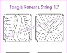 Strings for drawing zentangle patterns in the circle templates for drawing zentangle patterns, tangle pattern Digital string printable. Doodle Monster, Zentangle Drawings, Zentangle Patterns, Zentangles, Cd Crafts, String Crafts, Printable Coloring Pages, Adult Coloring Pages, String Art Templates