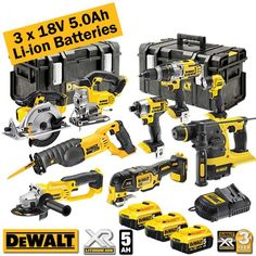 Dewalt Power Tools, Cordless Power Tools, Acessórios Jeep Wrangler, Dewalt Tough System, Bug Out Gear, Truck Tool Box, Engineering Tools, Woodworking Tools For Sale, Construction Tools
