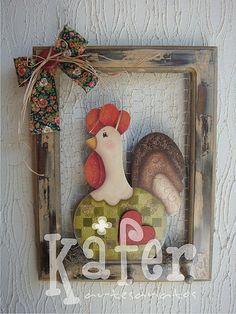 placa de galinha