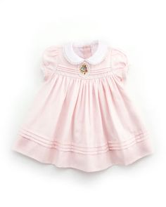 Cameo Pleated Dress, 3-9M by Ralph Lauren Childrenswear at Bergdorf Goodman.