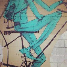#Bicicleta #Mural #avidaearte