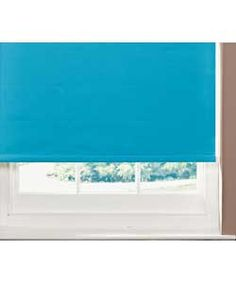 ColourMatch 6ft Blackout Roller Blind - Fiesta Blue.