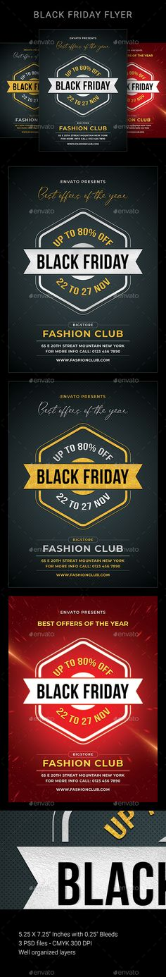 Buy Black Friday by sunilpatilin on GraphicRiver. Black Friday Flyer Black Friday Flyer is designed for all kind of Sales events! The flyer is fully layered and organi. Sale Flyer, New Years Sales, Party Flyer, Winter Sale, Fashion Sale, Christmas Sale, Flyer Template, Flyer Design, Flyers