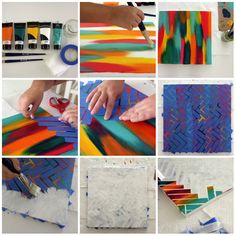 Easy And Creative Ways To Make Your Very Own Abstract Painting